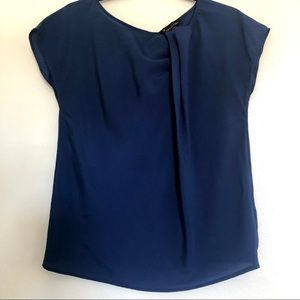 Forever 21 Blue Blouse Top.